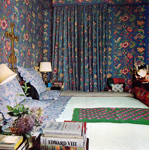 Diana Vreeland's bedroom