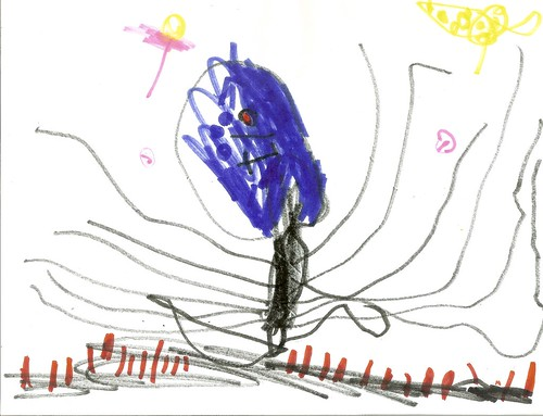Asher's Art, 4.5 Years Old