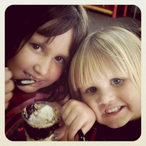 McDonalds Sundae = happy kiddos by seanclaes