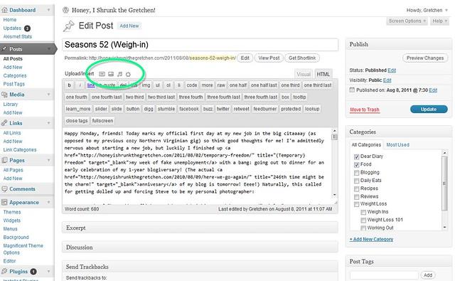 writing post screenshot media highlight