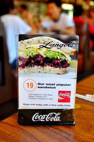 Langer's Delicatessen Restaurant - Los Angeles