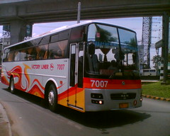 Victory Liner 7007 (Bus Ticket Collector) Tags: bus pub deluxe philippines modulo balintawak vli victoryliner almazora mandiesel pbpa philippinebusphotographersassociation