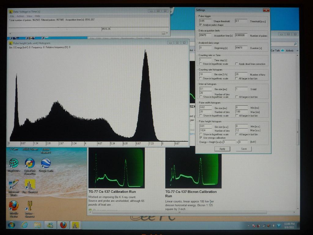 Freeware Gamma Spectroscopy