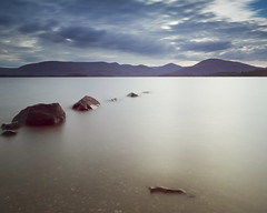 Millarochy 4243 (Martyn Campbell Photography) Tags: sky water still rocks long exposure calm loch lomond tranquil mountaind millarochy lomong