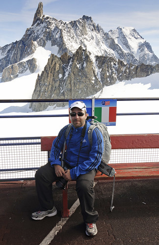 From Chamonix to Courmayer - Aiguille du Midi 37