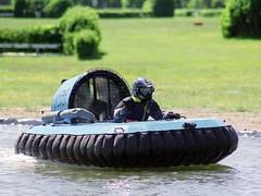 Hovercraft-Rennboot