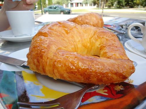 Zaragoza | Cafetería Félix | Croissant