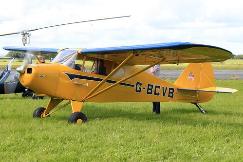 G-BCVB- Piper Cub_  Dunkswell