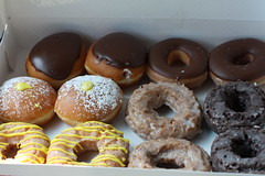 Krispy Kreme Dozen (cpt_comet) Tags: food cake dessert lemon sweet chocolate krispykreme sugar blueberry rings donuts donut doughnut pastry dozen doughnuts krispykremedoughnuts