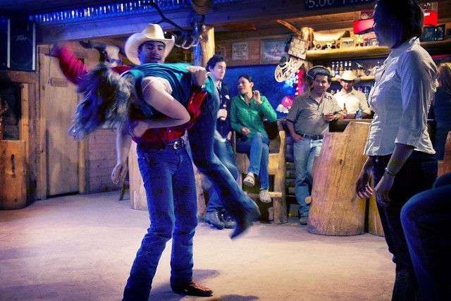 Black Mountain Colorado Dude Ranch line dance dancing