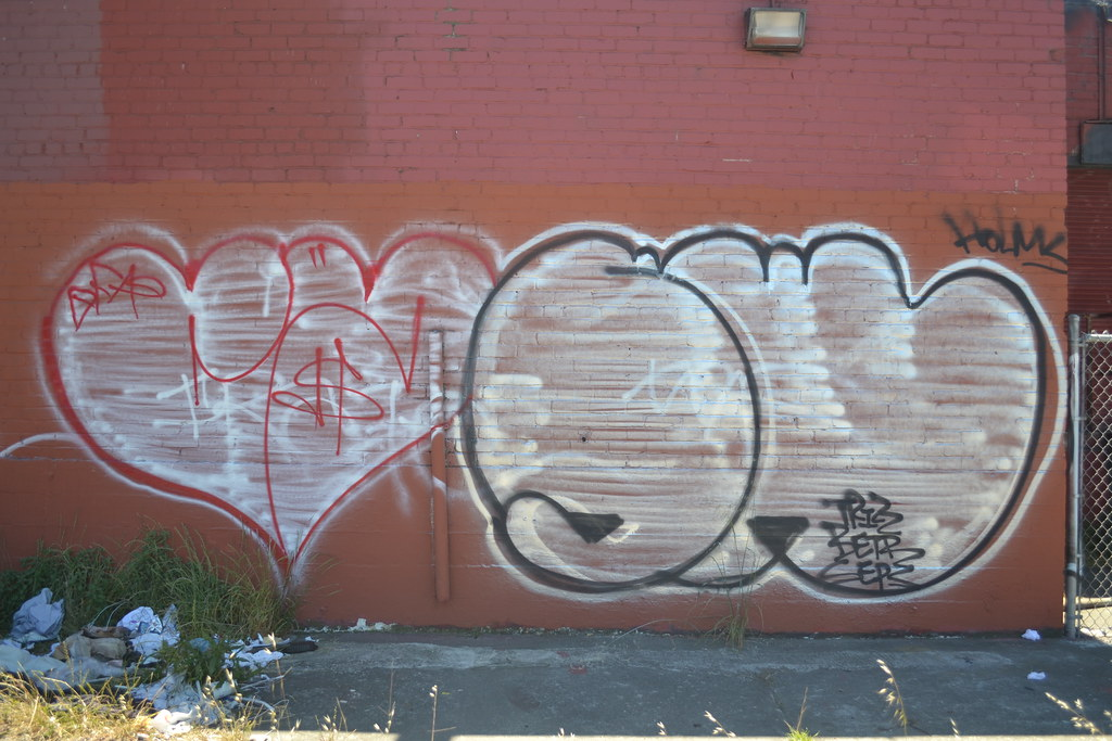 CASH, SWERV, AMC, 640, Graffiti, Street Art, Oakland
