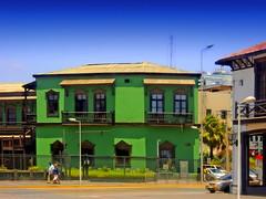 Antofagasta - Oficinas FCAB (Victorddt) Tags: chile sonycybershot ferrocarril antofagasta oficinas fcab
