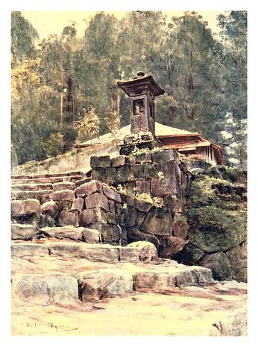 004-Alrededores de un santuario rustico-Japan & the Japanese 1910- Walter Tyndale
