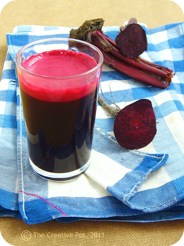 Beetroot, Citrus & Ginger Juice a-w