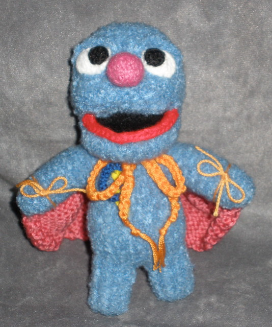 This is a job for Super Grover!