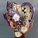 Focal : Amethyst Amber Flower Blossom