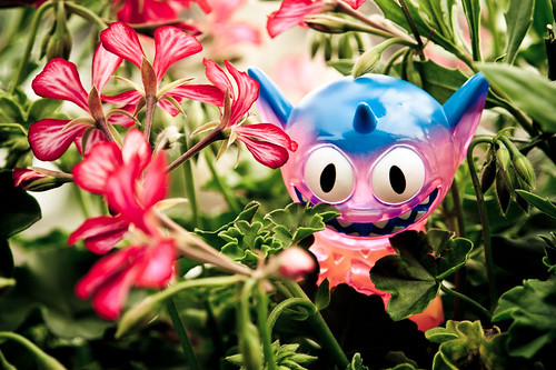 Uglyworld #1232 - Flower Rustler by www.bazpics.com