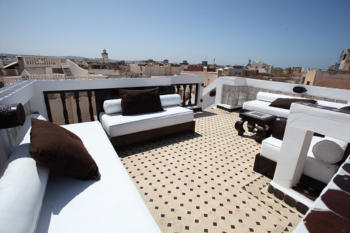 TOP VIEWS ON OCEAN FROM RIAD BAB ESSAOUIRA by Coolest Riads Morocco