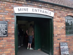 Black Country Living Museum - Underground Mine - Mine Entrance
