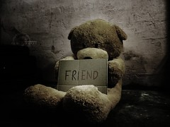 Friend (MOSTAFA HAMAD | PHOTOGRAPHY) Tags: pictures sky italy black art love canon germany photography is friend europa alone fotografie photographie sad friendship iraq 110 ixus lonely fotografia hamad  mostafa fotografa fotografering  iaq fotoraflk      ringexcellence artistoftheyearlevel2