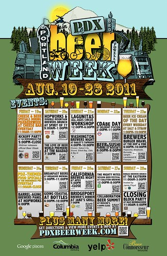 Portland Beer Week Events + Win Tickets: Hopworks, Coalition, Bagdad Theater, Apex, & More | August 19-28