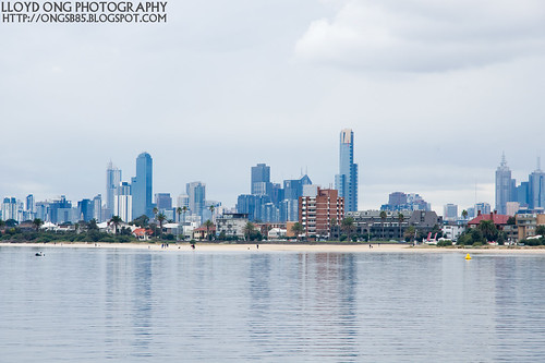 Melbourne City View from St Kilda