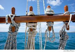 Sailing (john white photos) Tags: ocean sea nature water coast boat wooden marine sailing yacht australian australia coastal ropes railing southaustralia eyrepeninsula
