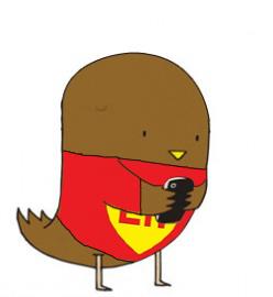 Chicano Twitter Bird