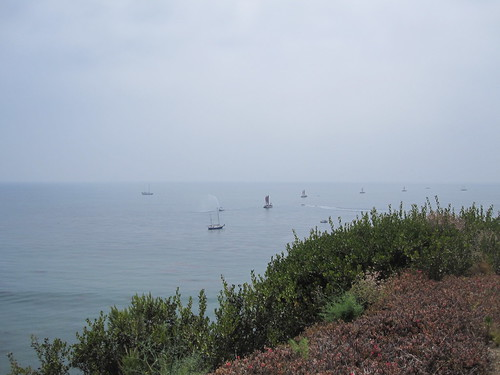 canoes round the point