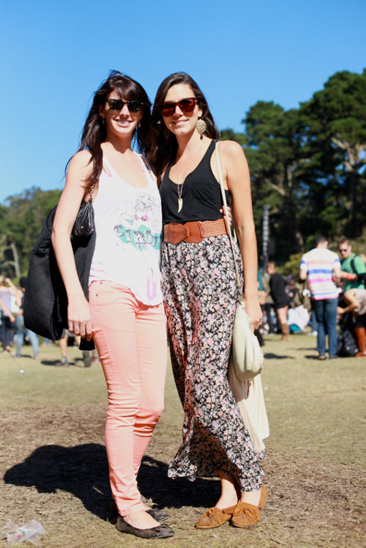 peachfloral - san francisco street fashion style outside lands