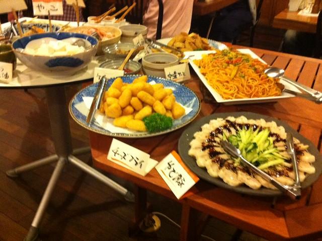 食べ放題の写真