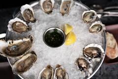 hogs island san francisco oyster sampler platter