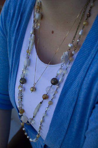Details - Layered necklaces