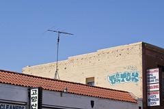detox / amaze (cyan79) Tags: california ca cali wall typography graffiti la losangeles nikon paint letters type graff detox amaze d40 califas