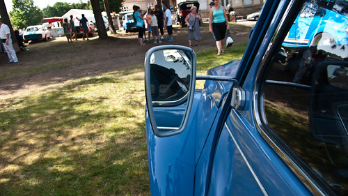 Sideview mirror 2cv