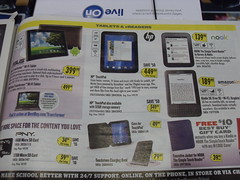 HP TouchPad Print ad 8.21.2011