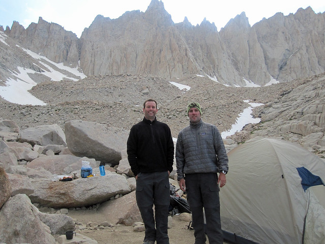 Mt. Whitney trail camp