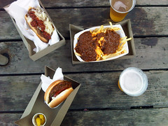 Carney's (F for Food) Tags: beer cheese chili awesome oldschool hamburgers fries hotdogs chilicheesefries carneys