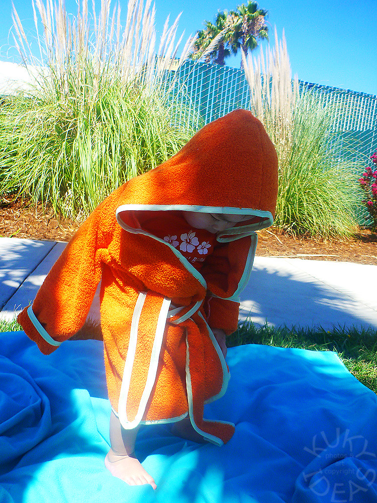 Made Beach Robe
