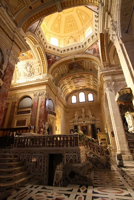 Inside Cattedrale di Santa Maria in Cagliari