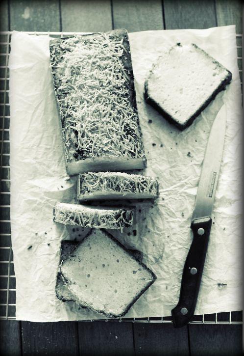 Fermented casava cake in BW