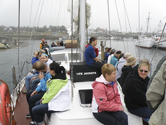 """Whales-n-Sails"" Departure (Dave Boltz) Tags: canada grandmanan olympussp570uz"