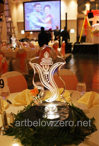 Ganesh Centerpiece ice sculpture