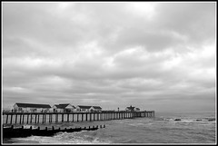 Southwold Pier (AJC Photography2011) Tags: sky water clouds pier suffolk southwold groynes