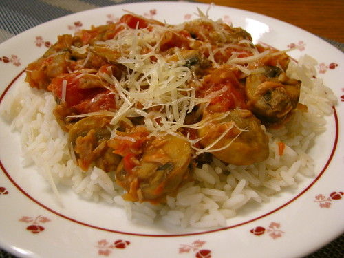 Tuna and Mushroom Ragout