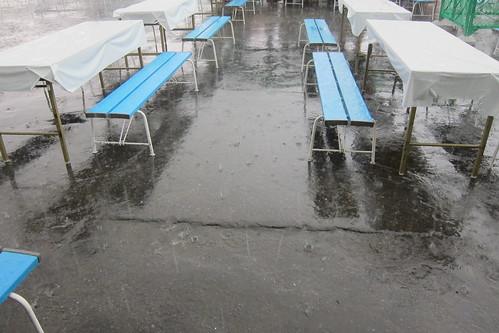 世界旅行博2011 ゲリラ豪雨 #2
