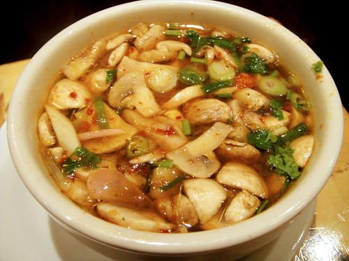Tom Yum Mushroom