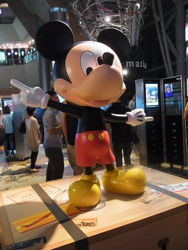 Travelling Mickey