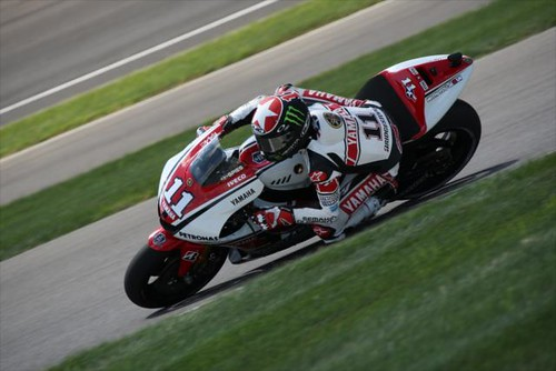 Ben Spies during the MotoGP race