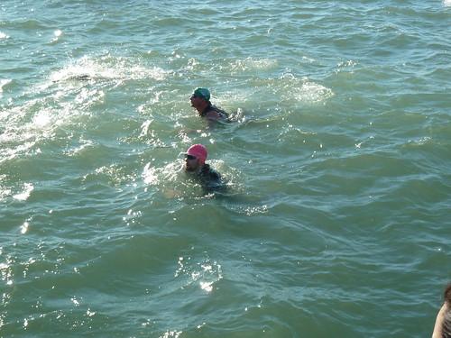 Fuzzy swimming
